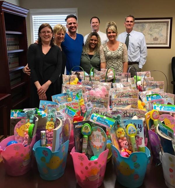 GLR Gives back for Easter