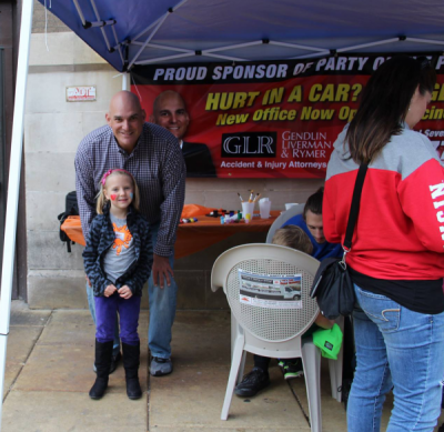 GLR Proud sponsors of party on the pavement