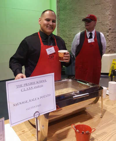 Volunteer at the Empty Bowls Annual Event