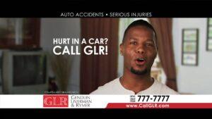 Hurt in a car? Call GLR