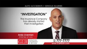 Auto Accidents Investigation by Attorney Andy Liverman